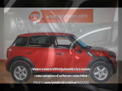 mini mini countryman cooper 122ch vendre rouen chez vpn autos youtube. Black Bedroom Furniture Sets. Home Design Ideas