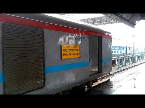 New Look First LHB 22935/36 Bandra(T)-Palitana SF Express Back To BDTS Platform no 4