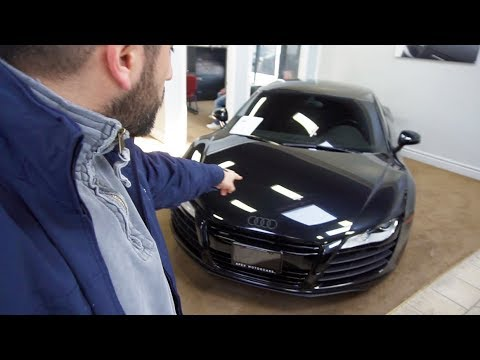 Inspecting USED Audi R8 For Mr Lightmode! Should We BUY IT?!