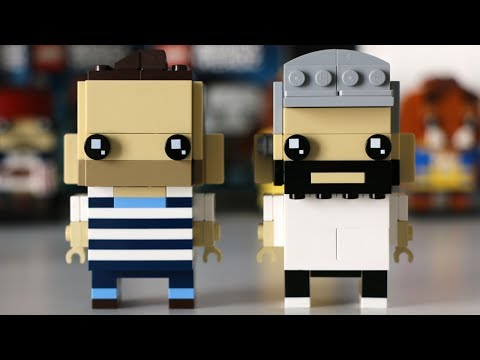 LEGO BrickHeadz Designer Interview with Marcos Bessa and Austin Carlson