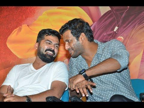 Simbu & Vishal ஒரே மேடையில் சரவெடி பேச்சு | Latest | Full Speech | Ezhumin Trailer Launch