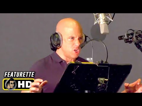 """Vin Diesel Recording """"I am Groot"""" in Different Languages [HD] Behind the Scenes"""