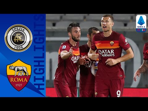 Spezia AS Roma Goals And Highlights