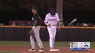 Baseball Highlights: ECU 13, UCF 8