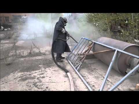 Чистка и оцинковка балконных перил