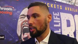 TONY BELLEW - 'I AM PREPARED TO GO TO LENGTHS MAKABU WOULDN'T DREAM OF' / REAL LIFE ROCKY STORY