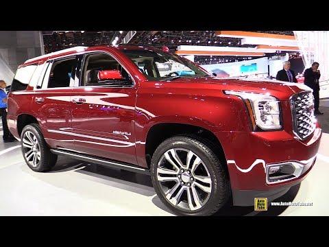 2018 GMC Yukon Denali - Exterior and Interior Walkaround - 2018 Detroit Auto Show