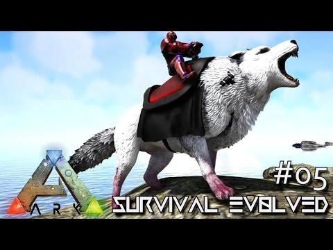 ARK: SURVIVAL EVOLVED - ALPHA DIREWOLF & DodoRexy TAMING !!! E05 (MODDED ARK ANNUNAKI EXTINCTION)