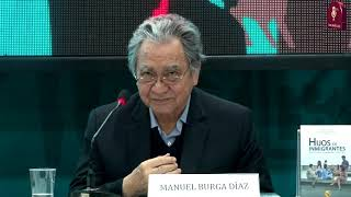 Tema: Presentación de libro dirigido por el Dr. Burga en la FIL Lima 2019