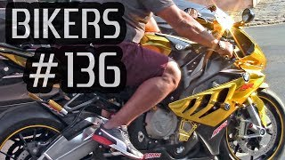 BIKERS #136 - GOLD S1000RR & more INSANE SUPERBIKES on the STREETS!