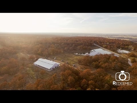 tulsa's-newest-venue!-dream-point-ranch-aerial-tour---wedding-venue,-by-redeemed-productions