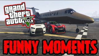GTA 5 Online: Epic Funny Moments PS4 Live