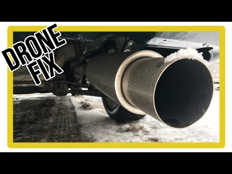 How to Fix Exhaust Drone - Cheap AND Easy