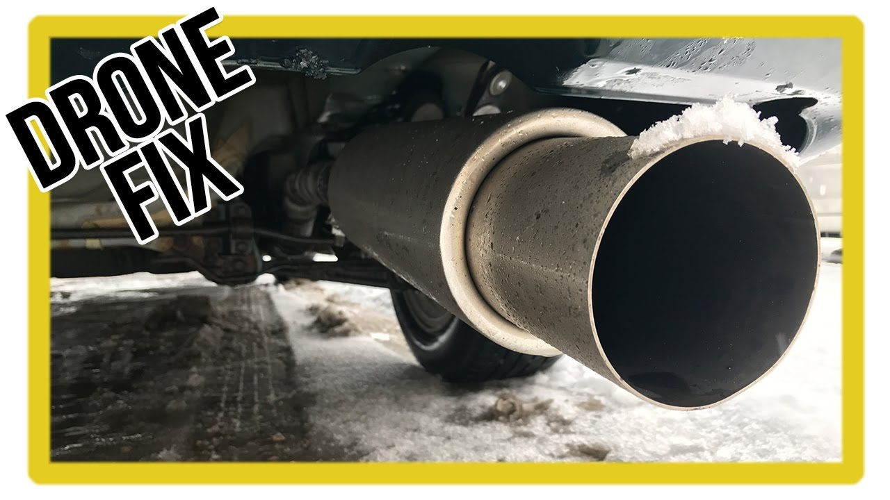 How To Fix Exhaust Drone Cheap And Easy