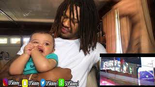 (BABY SKINNY!) B. Lou - TIME (Reaction Video)