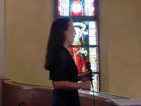 Ave Maria von Bach Gounod - Sängerin Gundula Braum - Mainz ...
