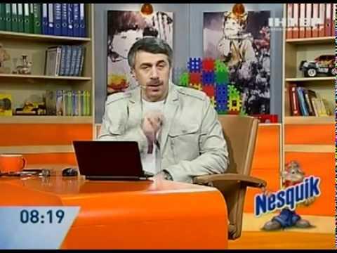 Опасная ангина - Доктор Комаровский - Интер
