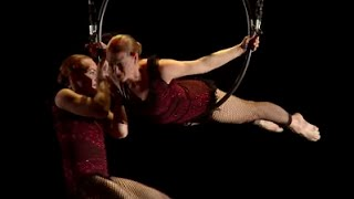 Tippy and Flippy: Aerial Amazement | Aerial Arts of Utah | TEDxSaltLakeCity