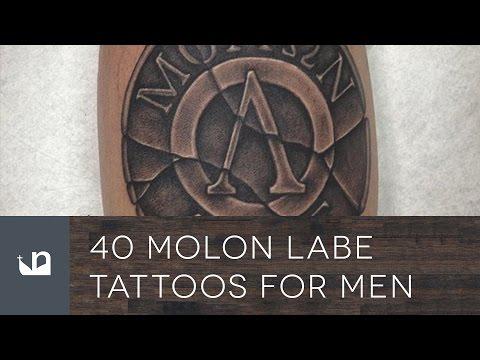 3fad58c36bf1b 40 Molon Labe Tattoos For Men - YouTube