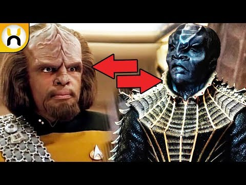 Thumbnail: Klingon Redesign EXPLAINED | Star Trek: Discovery