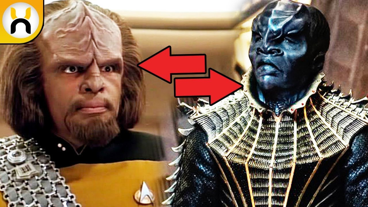 Klingon Redesign Explained Star Trek Discovery