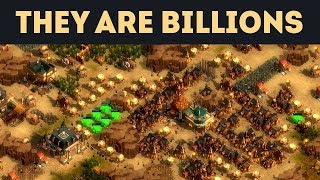 НАС ЖДЁТ СЛАВНАЯ БИТВА на 500% в They Are Billions!