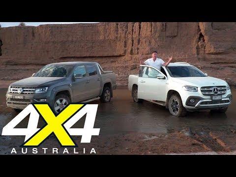 2019 Mercedes-Benz X350d vs Volkswagen Amarok Ultimate 580 | 4X4 Australia