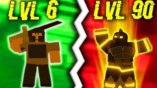 *NOOB* BECOMES A *PRO* (STARTING OVER) IN DUNGEON! #2 (ROBLOX DUNGEON QUEST)