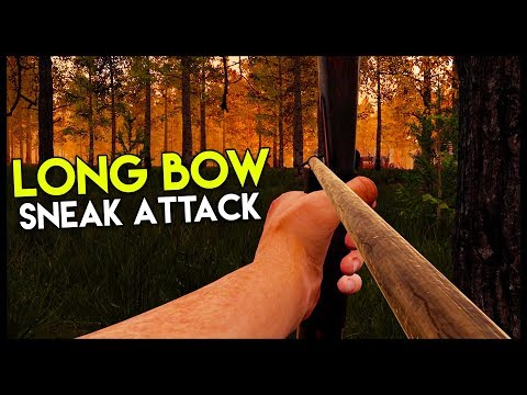 Attacking a Bandit Camp w/ LONG BOW! (Mist Survival Gameplay Part 8)