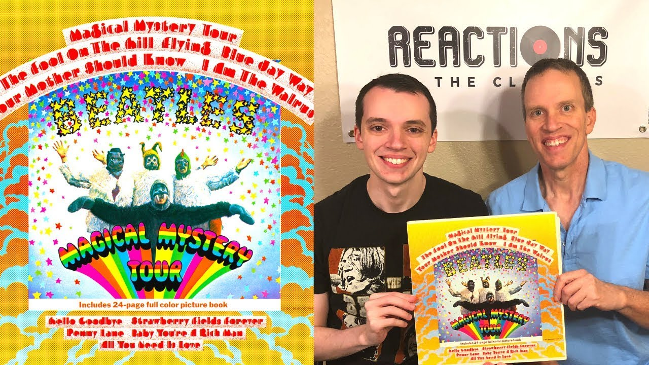 Father and Son Reaction to The Beatles! Magical Mystery Tour Full Album  Review!