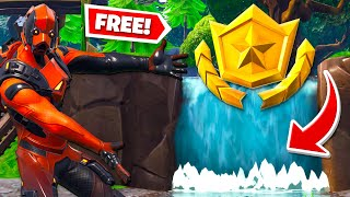 Visit Different Waterfalls *ALL LOCATIONS* (Fortnite Overtime Challenges)!