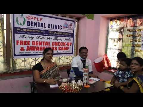 Dental check up at school of wonder kids