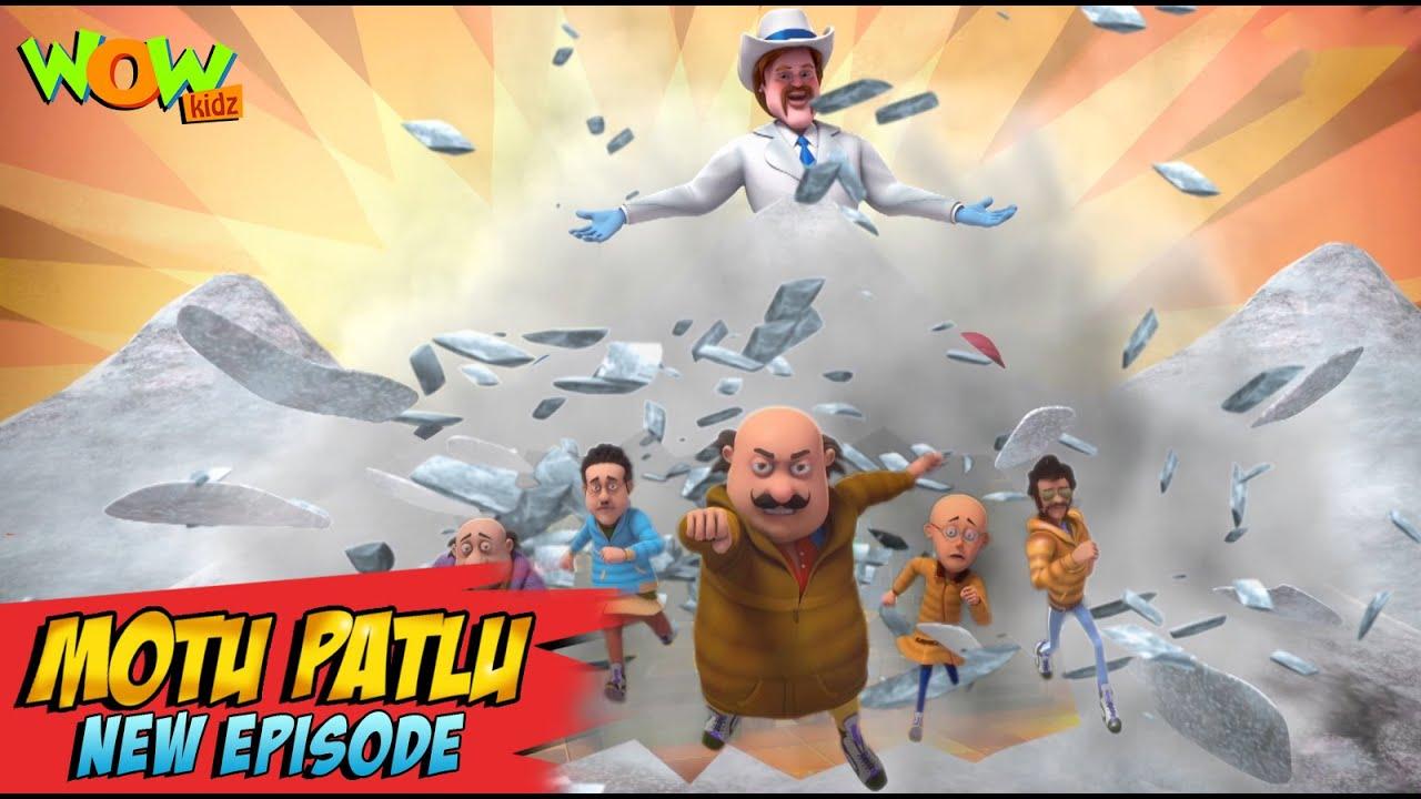 Download Motu Patlu New Episodes 2021   Gang Of Mr. Snow   Funny Stories   Wow Kidz