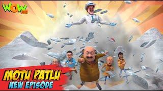 Motu Patlu New Episodes 2021  Gang Of Mr. Snow  Funny Stories  Wow Kidz