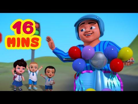 Download Lalaji Ne Khareeda Ek Naya Scooter and much more | Hindi Rhymes for Children | Infobells