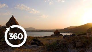 Spectacular Yerevan Sunset | Yerevan, Armenia 360 VR Video | Discovery TRVLR
