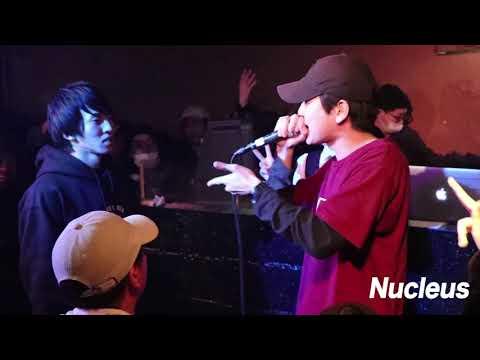 pino vs MC龍  | ズキ子主催イベント Nucleus vol 1
