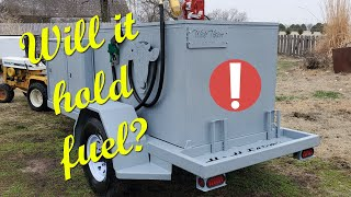 Fuel Tank Build - Custom Fuel Trailer Build, 2nd Video