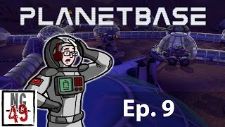 "Planetbase - The Arid Planet - ""Power Panic"" - Base 1 Part 9"