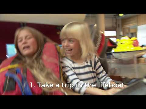 Top 10 things with kids | National Maritime Museum Cornwall