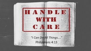 I Can Do All Things... Philippians 4.13  5 21-17 am