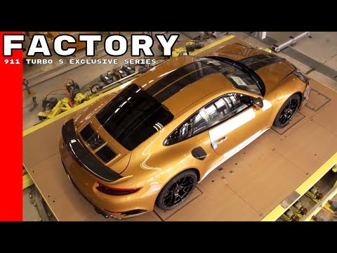 Porsche 911 Turbo S Exclusive Series Factory