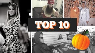 Top 10 Halloween Costumes by Poker Players