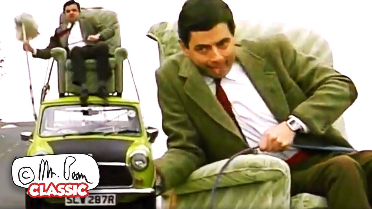 KING Bean! | Mr Bean Funny Clips | Classic Mr Bean