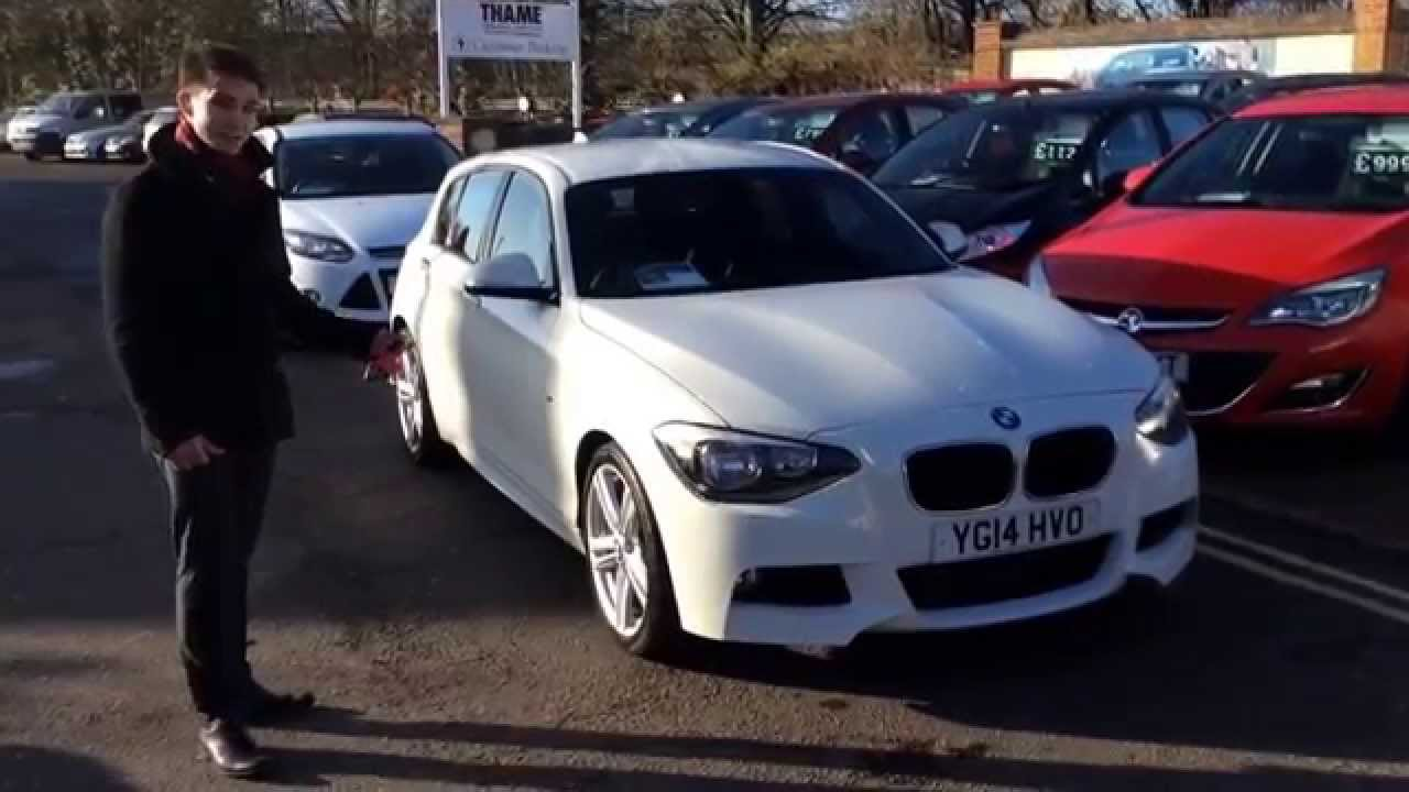2014 bmw 1 series 125d m sport 5dr with media pack at thame service station youtube. Black Bedroom Furniture Sets. Home Design Ideas