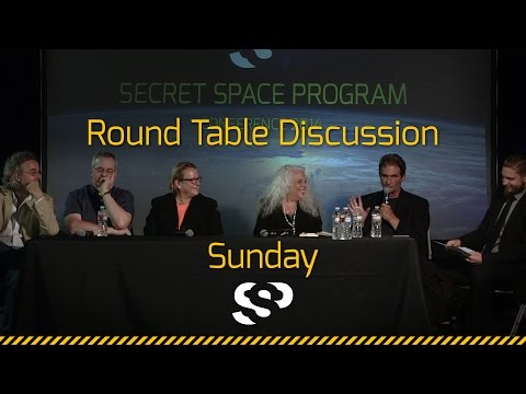Round Table Discussion Sunday Secret Space Program Conference, 2014 San Mateo