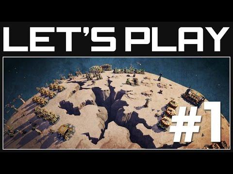 Planetary Annihilation Gameplay Part 1 - Galactic War