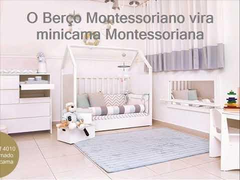 Conhe a o berco montessori casinha que vira minicama for Sofa que vira beliche preco