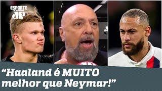 """""""ISSO SIM é UM CRAQUE!"""" Narrador EXALTA Haaland e PROVOCA Neymar após Borussia x PSG!"""