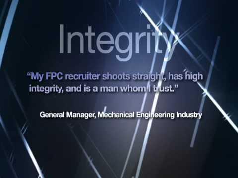 Benefits of working with Executive Recruiting Firm, FPC (Fortune Personnel Consultants)